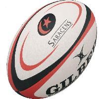 Ballon De Rugby GILBERT Ballon de rugby REPLICA - Saracens - Taille Mini