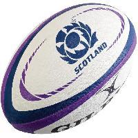 Ballon De Rugby GILBERT Ballon de rugby REPLICA - Taille Midi - Ecosse