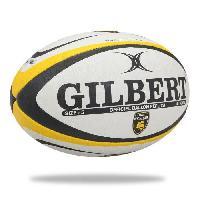 Ballon De Rugby GILBERT Ballon de rugby Replique Club La Rochelle - Taille 5 - Homme