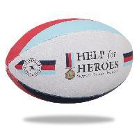 Ballon De Rugby GILBERT Ballon de rugby SUPPORTER - Help the Heroes - Taille 5