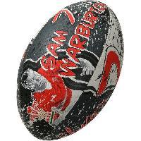 Ballon De Rugby GILBERT Ballon de rugby SUPPORTER - Pays de Galles Sam Warburton - Taille 5