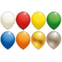 Ballon Decoratif  Et Pompe 10 Ballons - Latex - Argent