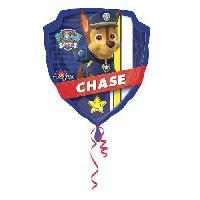Ballon Decoratif  Et Pompe 1 BALLON ALU PAW PATROL 63 CM - Amscan