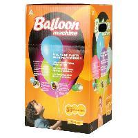 Ballon Decoratif  Et Pompe Bonbonne d'Helium jetable pour 30 ballons