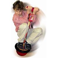 Ballon Sauteur - Baton Sauteur CARS T-Ball avec Voiture Flash Mc Queen