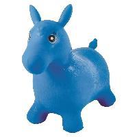 Ballon Sauteur - Baton Sauteur LEXIBOOK - Cheval sauteur gonflable Bleu - Mixte - A partir de 3 ans