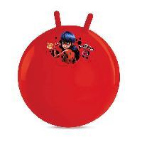 Ballon Sauteur - Baton Sauteur MIRACULOUS - Ballon Sauteur - 50 cm - Jeu de Plein Air - Fille - A partir de 3 ans. - Mondo