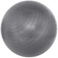 Ballon Suisse - Gym Ball - Swiss Ball Avento Ballon de fitness 65 cm Argente 41VM-ZIL