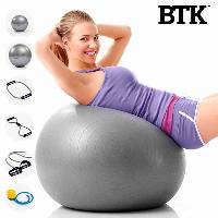 Ballon Suisse - Gym Ball - Swiss Ball INNOVAGOODS Kit d'entrainement pour fitness BTK