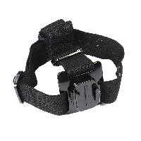 Bandeau De Fixation Camera - Brassard Camera - Ceinture Tete Camera Bandeau de tete rotatif GP361A - Pour Go Pro et autres cameras de sport