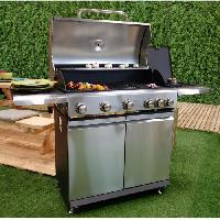 Barbecue BBQ PLUS Barbecue a gaz 5 bruleurs + side burner