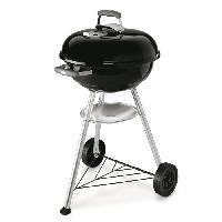 Barbecue Barbecue a charbon Compact Kettle D47 cm - Acier chrome - Noir