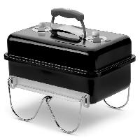 Barbecue Barbecue a charbon Go-Anywhere Charcoal - Acier chrome - Noir