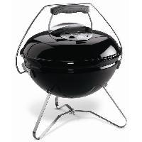 Barbecue Barbecue a charbon Smokey Joe Premium D37 cm - Acier chrome - Noir