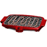 Barbecue De Table - Electrique BQS800RED Barbecue Electrique - 2000W - Rouge