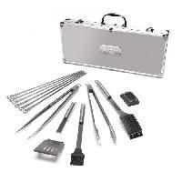 Barbecue De Table - Electrique CUISINART Kit valise premium 13 ustensiles - SBQ01E - pour barbecue - Acier/Aluminium