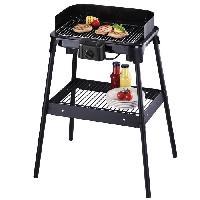 Barbecue De Table - Electrique SEVERIN 2792 Barbecue sur pied 41x26 - 2500 W - Noir