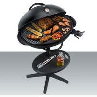 Barbecue De Table - Electrique STEBA VG350 BIG 063500 Grill BBQ - 2200 W - Plaque de grill XXL 55 x 41 cm - Noir