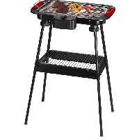 Barbecue De Table - Electrique TECHWOOD TBQ-825P Barbecue électrique sur pieds - Noir