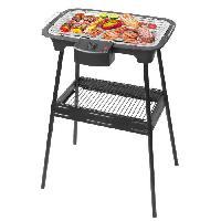 Barbecue De Table - Electrique TRIOMPH ETF1526 Barbecue électrique sur pieds - Noir