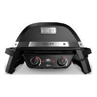 Barbecue De Table - Electrique WEBER Barbecue électrique Pulse 2000 - Fonte d'acier émaillée - Noir