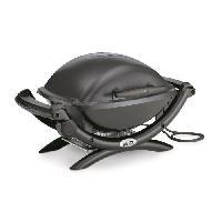Barbecue De Table - Electrique WEBER Barbecue électrique Q 1400 - Noir gris