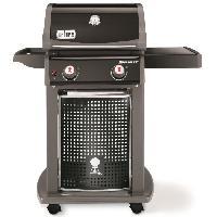 Barbecue WEBER Barbecue a gaz Spirit EO-210 - 2 brûleurs - Acier émaillé - Noir