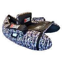 Barque De Peche - Pieces Detachees SEVEN BASS Float Tube Hecko 130 - Camouflage