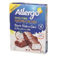 Barre De Cereale ALLERGO Barre coco chocolat bio - 200g - MID