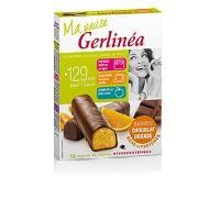Barre De Cereale GERLINEA Barres chocolatees Hyperpro a l'orange - 372 g