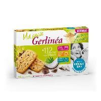 Barre De Cereale GERLINEA Biscuits de son d'avoine. au chocolat et noix de coco - 200 g