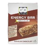 Barre De Cereale GO SPORT Barre de cereale chocolat - 5x20g