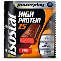 Barre De Cereale ISOSTAR Barres de High Protein 25 Strawberries - 3x 35 g - Generique