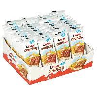 Barre De Cereale KINDER COUNTRY Pack de barres cerealieres chocolatees - 24x 47 g