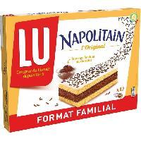 Barre De Cereale Napolitain Classic Individuel Format Familial 360g - Lu