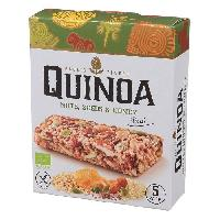 Barre De Cereale PAUL'S FINEST Pack de 5 Barres Quinoa avec Noisettes. Graines et Miel Bio - 25 g - Generique