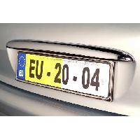 Barrettes de coffre Barrette de coffre chromee adaptable pour Peugeot 207