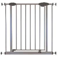 Barriere De Securite Bebe Barriere ROMEO Metal Portillon Sans percage 73-81cm Gris