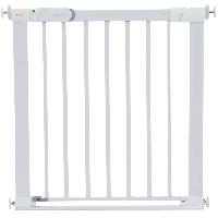 Barriere De Securite Bebe Barriere de securite enfant Flat Step Barriere Metal - Blanc