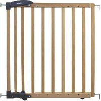 Barriere De Securite Bebe Barriere dual install extending Wood natural Wood - Safety 1st