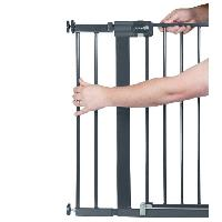 Barriere De Securite Bebe Extension pour barrieres U-PRESSURE metal 14 CM metal Black
