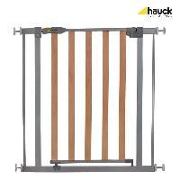 Barriere De Securite Bebe HAUCK Barriere de securite enfant Bois et metal - 75 a 81cm