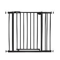 Barriere De Securite Bebe HAUCK Barriere de sécurité enfant close'n stop + extension 9 cm - Charbon