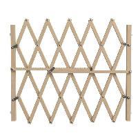 Barriere De Securite Escalier - Porte Barriere Pressfix extensible en bois - Pour chien