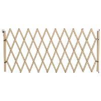 Barriere De Securite Escalier - Porte Barriere Stopmax extensible en bois - Pour chien