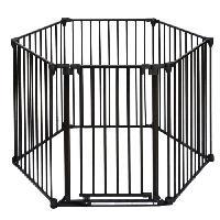 Barriere De Securite Escalier - Porte Parc en metal Naila - Pour chien