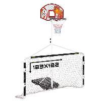Basket-ball Ensemble Multi-Jeux Panneau de Basket + But de Foot