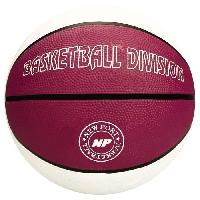 Basket-ball NEW PORT Ballon de basketball - Blanc - Taille 7