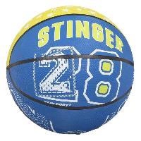 Basket-ball NEW PORT Mini-ballon de basketball - Bleu Generique