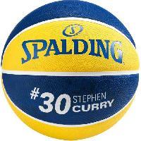 Basket-ball SPALDING - Ballon de basket NBA - Signature Stephen Curry - Golden State Warriors